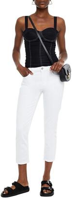 Current/Elliott The Fling Low-rise Slim-leg Jeans