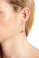 Rebecca Minkoff Pyramid Threader Earrings