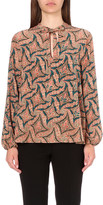 Etro Paisley-print silk-chiffon blouse