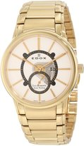Edox Men's Les Bemonts Stainless Steel Watch