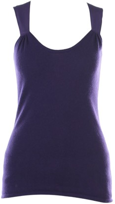 Brunello Cucinelli Purple Cashmere Top for Women