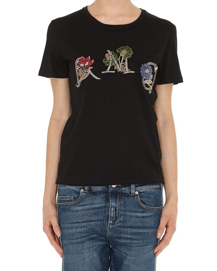 Alexander McQueen Logo Jewel Tshirt