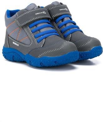 Geox Kids Touch-Strap Snow Sneakers