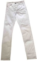Cos White Cotton Jeans for Women