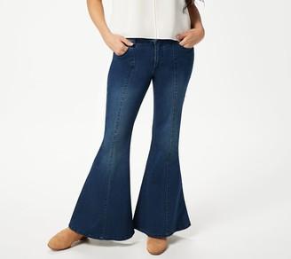 Women With Control Women with Control My Wonder Denim Tall Flare Jeans-Indigo