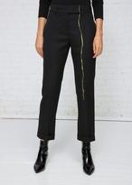 Haider Ackermann Black Gold Classic Single Leg Embroidery Trousers