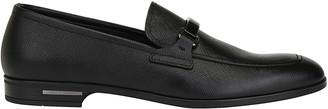 Prada Logo Detail Loafers