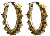Viv&Ingrid Star Hoop Earrings