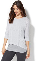 New York & Co. Lounge - Layered Scoopneck T-Shirt