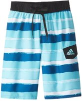 adidas Boys' Go On Stripe Swim Trunks (820) - 8153674