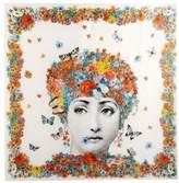 Fornasetti Square scarf