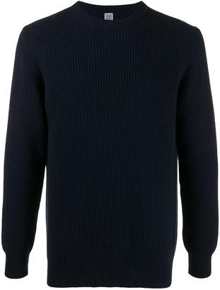 Eleventy Rib-Knit Cashmere Jumper