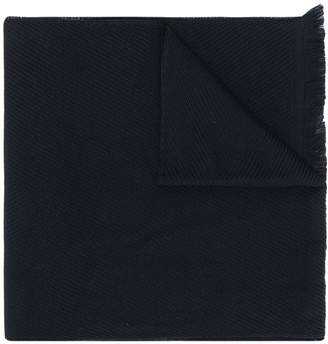 Canali long textured scarf