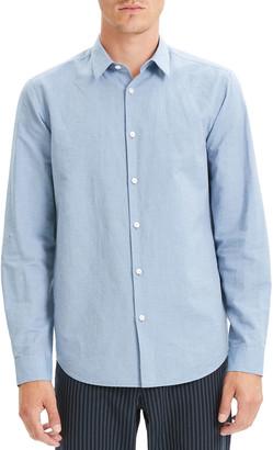 Theory Men's Essential Linen Irving Sport Shirt