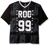 Rocawear Men's Big-Tall Escape Short Sleeve Knit