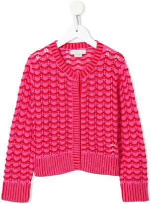 Stella McCartney Scallop-Knit Cardigan