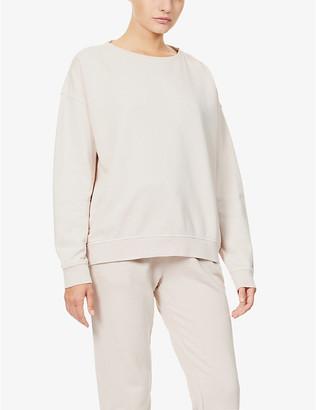 The Upside Alena loopback cotton-jersey sweatshirt