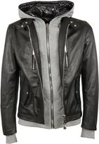 Philipp Plein Philipp Plain Leather Jacket