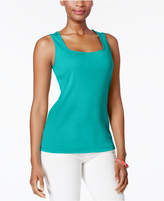 Karen Scott Cotton Tank Top, Created for Macy's