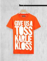 House of Holland Karlie Kloss cotton-jersey t-shirt