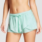 Women's Flutter Pajama Short Bleached Aqua - Xhilaration