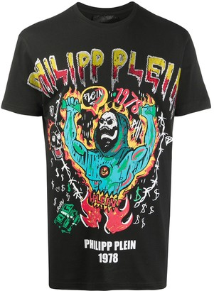 Philipp Plein SS Graffiti T-shirt