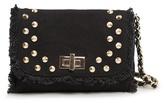 MANGO TOUCH - Studded canvas bag