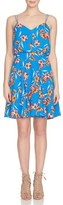 CeCe Women's Floral Fit & Flare Dress