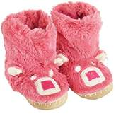 Hatley Slouch - Bear, Girls' Hi-Top Slippers,XL UK (34/35 EU)
