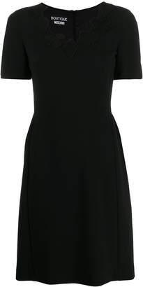 Moschino card patch dress