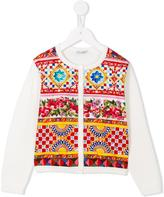 Dolce & Gabbana 'Carretto Con Rose' cardigan