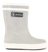 Aigle Baby Flac Kid Striped Rainboots
