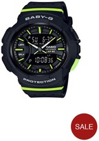 Baby-G Baby G Urban Sports Running Series Black Dial Black Strap Watch