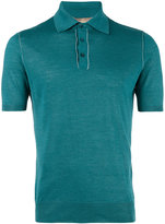 Cruciani classic polo shirt - men - Silk/Linen/Flax - 46