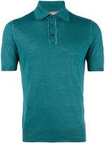 Cruciani classic polo shirt - men - Silk/Linen/Flax - 46