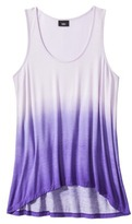 Mossimo Women's Sleeveless Dip Dye Tank Top - Assorted Colors