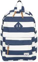 Herschel Stripes Printed Nylon Canvas Backpack