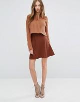 Missguided Knitted Skater Skirt