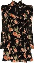 Reformation Vivianne floral-print mini dress