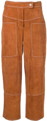 Desa 1972 Suede Cropped Trousers
