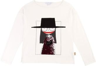 Little Marc Jacobs Girls White Tee-Shirt