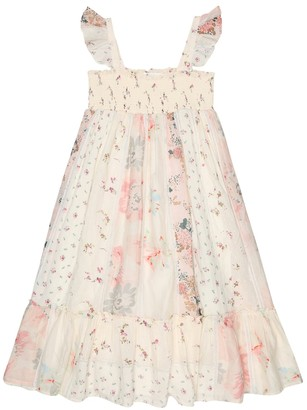 Bonpoint Nestina floral cotton dress