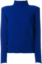 Thierry Mugler ribbed knit jumper