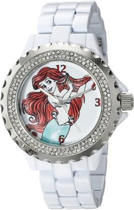 Disney Women's W001816 Ariel Analog Display Analog Quartz White Watch