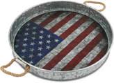 Thirstystone Flag Galvanized Tray