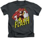 DC Juvenile: The Flash - Run Flash Run Kids T-Shirt Size 5/6