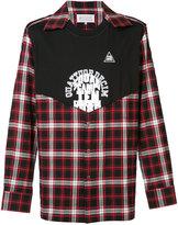 Maison Margiela checkered print shirt - men - Cotton/Spandex/Elastane - 40
