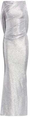 Talbot Runhof Mirrorball Stretch Column Gown