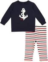 Polo Ralph Lauren Anchor Top and Legging Set