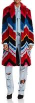 Alice + Olivia Roth Faux Fur Coat